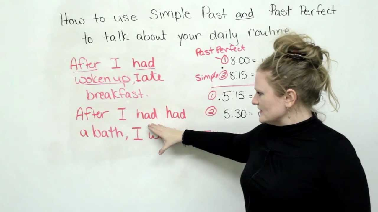 Past Simple And Past Perfect Tenses In English Engvid