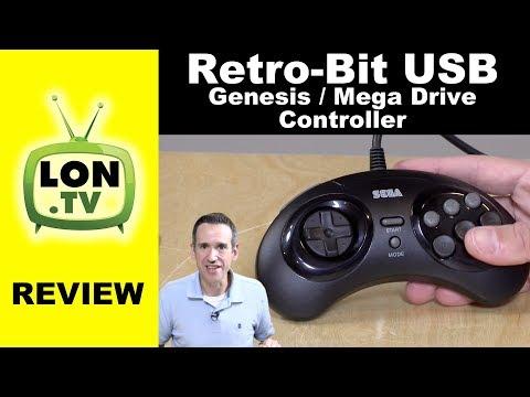 Retro-Bit Official Sega Genesis USB Controller Review