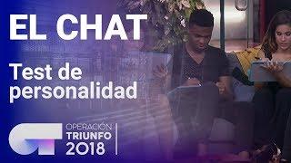 Los concursantes se enfrentan a un test de personalidad | El Chat | OT 2018
