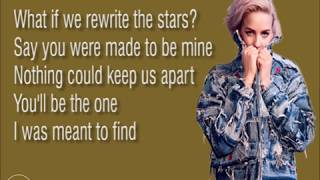 Anne Marie & James Arthur-Rewrite The Stars (Lyrics)
