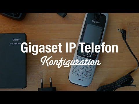 Gigaset C430 Telefon für VoIP (Unboxing, Konfiguration, Test)