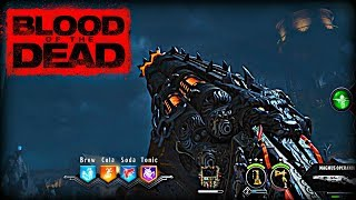 BLACK OPS 4 - ROUND 90 & ACID/MAGMA GAT GAMEPLAY (Blood of The Dead Zombies Walkthrough)