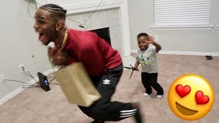 Download Youtube: TREY IS A REALLY GOOD DAD!!!