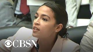Alexandria Ocasio Cortez Criticizes Trump Administration On Census Citizenship Question