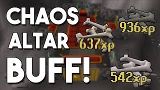 Is the Wilderness Chaos Altar A Cost Effective Training Method? Testing New Chaos Altar! [OSRS]