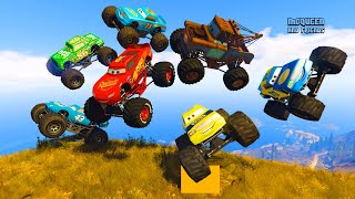 Race Cars Monster Truck McQueen The King Monster Truck Chick Hicks Mater and Friends Cars & Songs