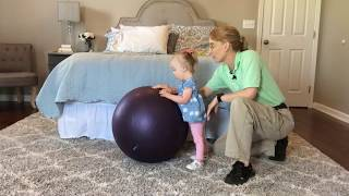 #100 Teach Your Child Standing and Walking Balance: Exercises for a Baby with Low Tone