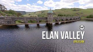 Elan Valley Reservoirs FPV flight full 4K edit