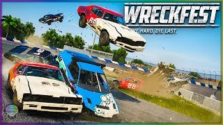 Jumping Figure 8 Madness! [Part 2] | Wreckfest