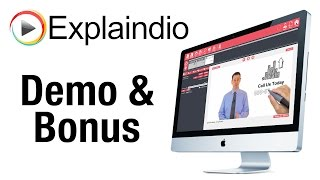 Explaindio Demo and Bonus - What Is Explaindio Video Creator?