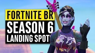 Fortnite   6 Perfect Landing Locations for Safe Easy Wins (Season 6)