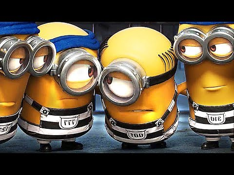 DESPICABLE ME 3 - BEST Movie Clips + ALL Trailers (2017) Animation, Funny Minions Movie HD