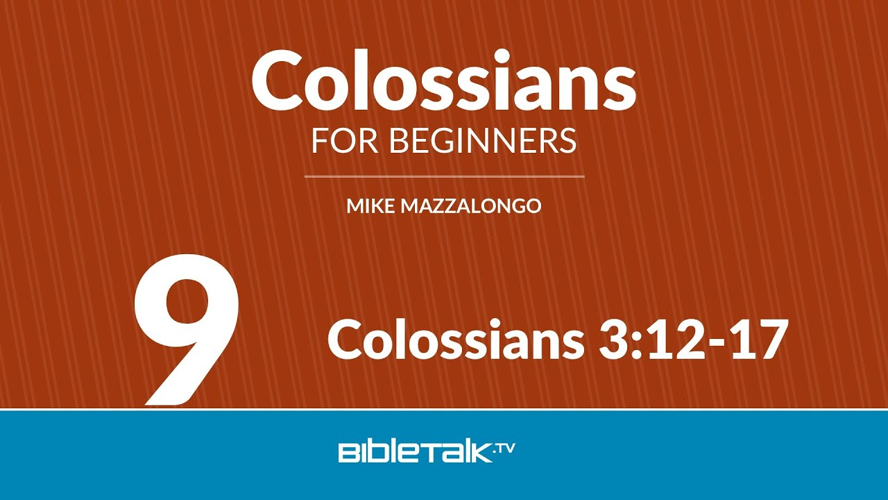 colossians 3 12