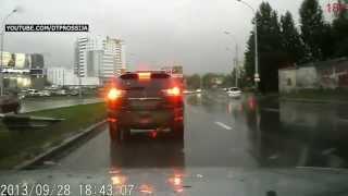 Подборка аварий и ДТП. Сентябрь 2013 #1. Запись с видеорегистратора