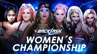 WWE Backlash (2016) Six-Pack Elimination Challenge for SmackDown Women