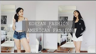 Korean Vs. American Fashion | The Basics