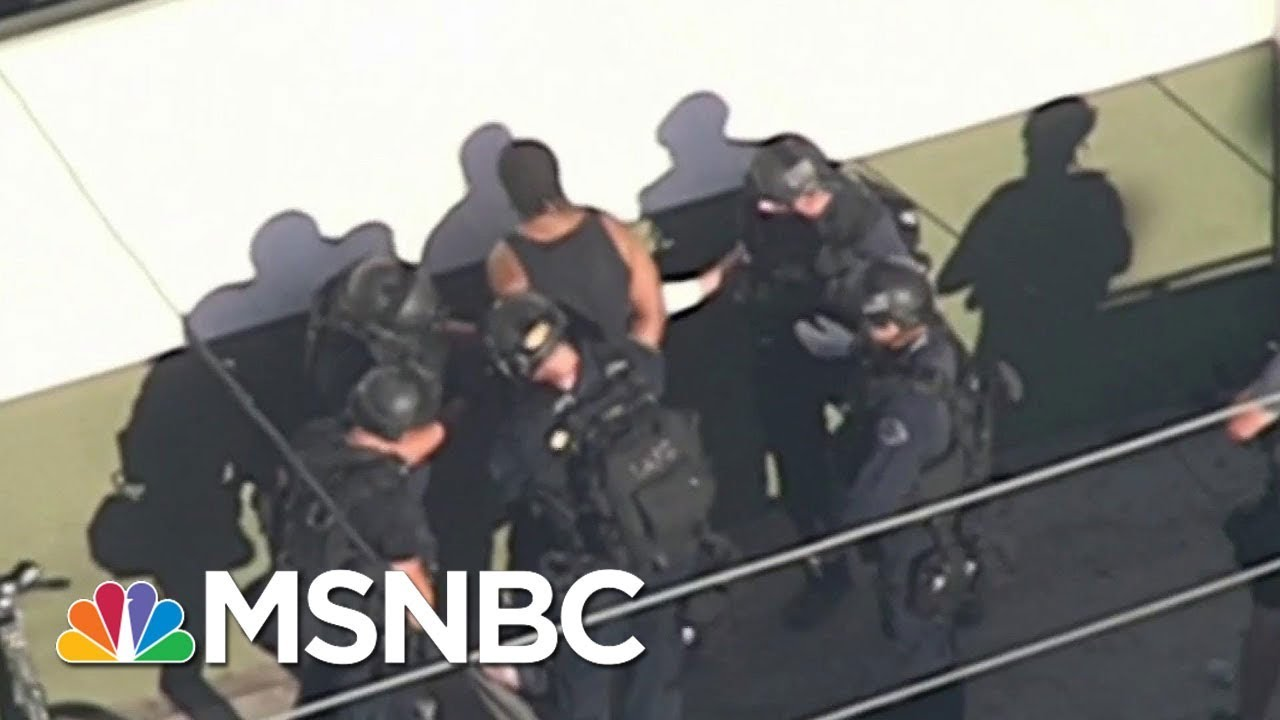 Suspect In Custody, Hostages Released From Los Angeles Trader Joe's | MSNBC thumbnail