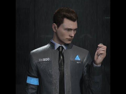 ⭐ Без категории | Живые обои Detroit: Become Human Connor Wallpaper (Rain) | Скачать бесплатно ⭐