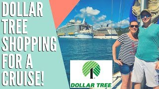 Cruise Shopping at the Dollar Tree!