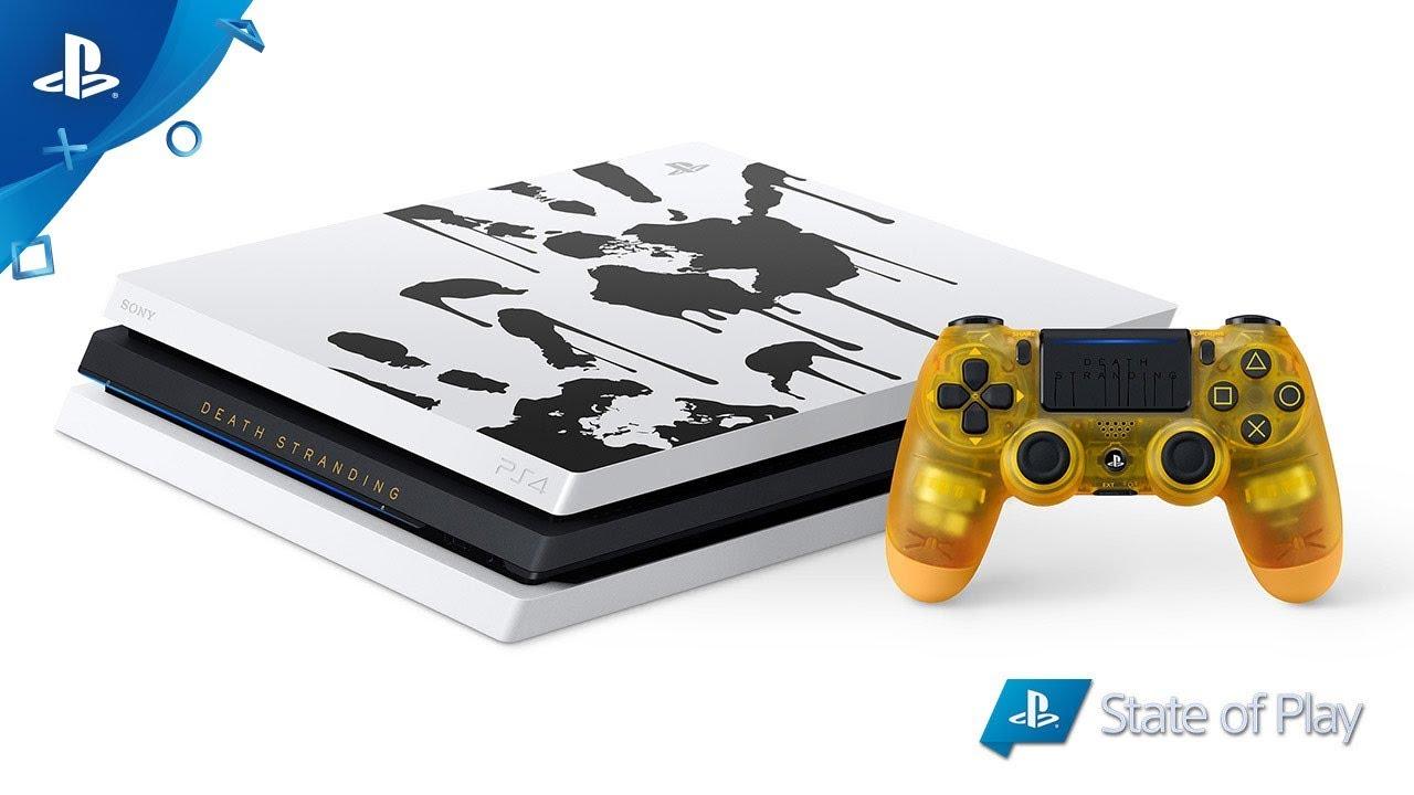 Apresentamos o Pacote PS4 Pro Limited Edition Death Stranding