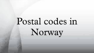 Postal codes in Norway