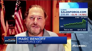 We need to rebuild to be successful for the digital future: Salesforce CEO