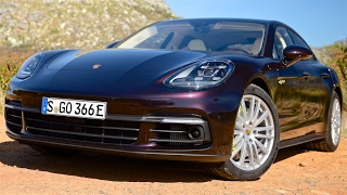 New Porsche Panamera Review--TESLA CAN'T TOUCH THIS INTERIOR
