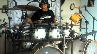 Abingdon Boys School - Nervous Breakdown - Bakka~Suzaku~ (Drum Cover)
