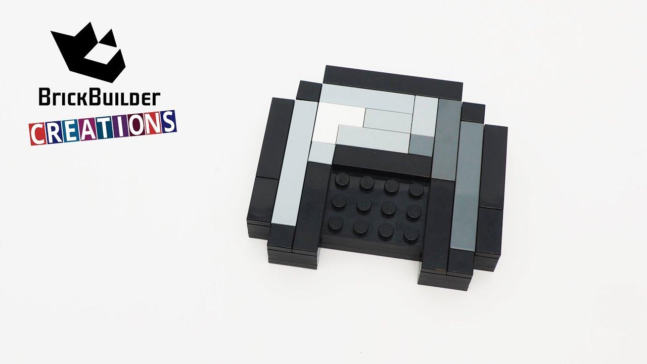 LEGO MOC MINECRAFT IRON HELMET   41pcs   Brick Builder Creations