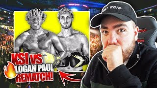 My Predictions for the KSI vs Logan Paul REMATCH