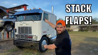 Cabover Gets A Massive Drop Bumper and Stack Flaps!!
