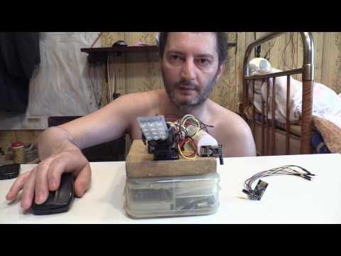 RoboRealm - Arduino Mega two Futaba Servos