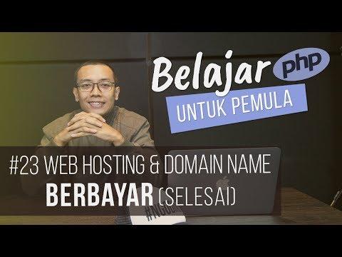 Belajar PHP untuk PEMULA : WEB HOSTING & DOMAIN NAME BERBAYAR (SELESAI)