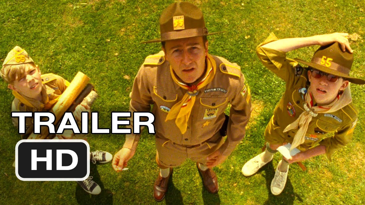 Movie Trailer:  Moonrise Kingdom (2012)