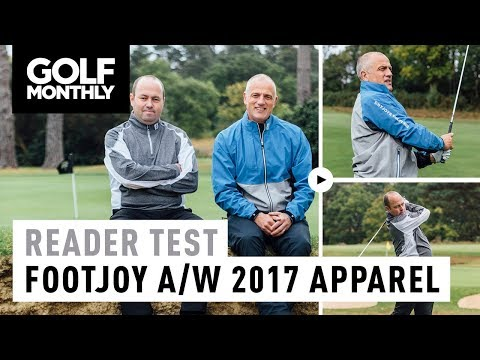 FootJoy Autumn/Winter 2017 Apparel | Reader Test | Golf Monthly