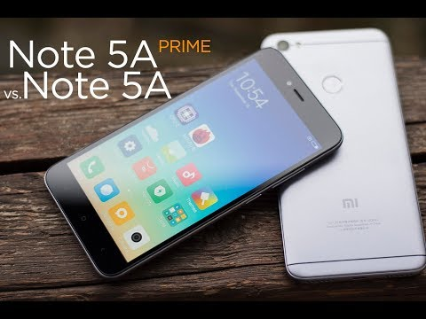 Xiaomi Redmi Note 5A PRIME vs. Xiaomi Redmi Note 5A - Close view & Performance comparison