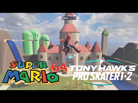 WOW: Someone made Peach's Castle in Tony Hawk's Pro Skater