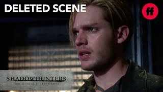 Shadowhunters Season 3 Deleted Scene | Jace Sees Jonathan Outside The Hunter's Moon | Freeform