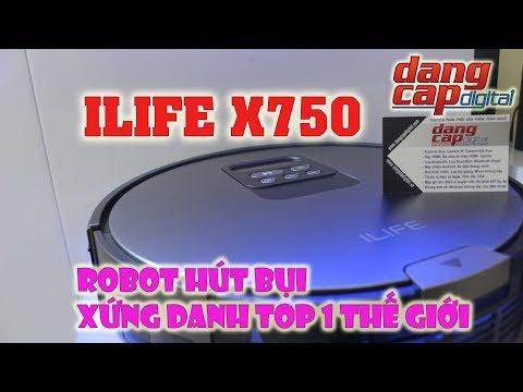 Dangcapdigital.vn - Đập hộp và trên tay Ilife X750 || Robot hút bụi hàng đầu thế giới!