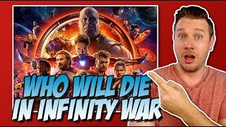 All 24 Avengers Infinity War Characters Ranked Least to Most Likely to DIE!