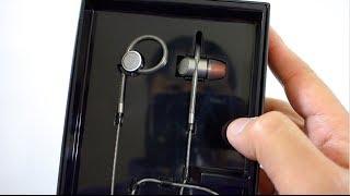 NEW! B&W c5 Titanium In-Ear Headphones Unboxing