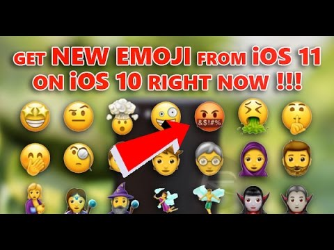 Download Get New Emoji From iOS 11 On iOS 10 Right Now! Mp4 HD Video and MP3