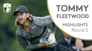 Tommy Fleetwood Round 2 Highlights | 2018 BMW PGA Championship