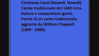 Christmas Carol (Nowell, Nowell)
