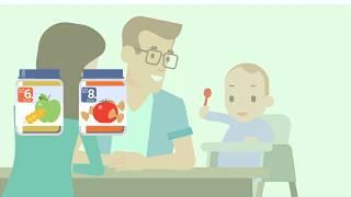 Babys erstes Löffelchen –  Babybrei im Gläschchen kaufen