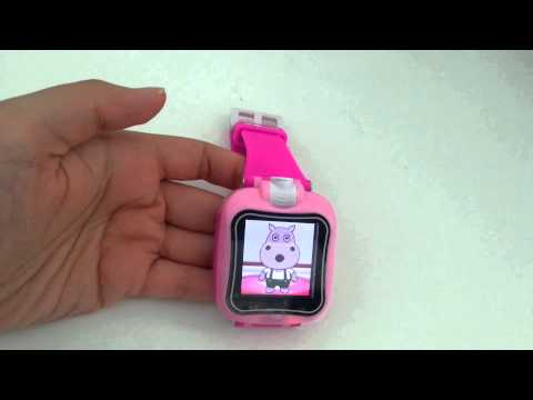 touch screen kids smart watch with camera
