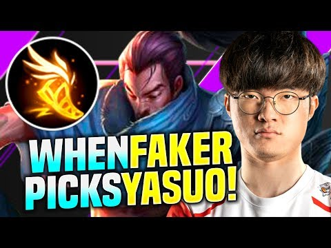 FAKER IS BEAST WITH YASUO! - SKT T1 Faker Plays Yasuo vs Nocturne Mid! | S10 KR SoloQ Patch 10.1