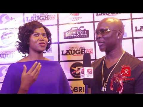 OGUSBABA LAUGH GOES ON 2017 - I GO DIE - EFE - GORDONS - KLINT DA DRUNK (Red Carpet On Tv)