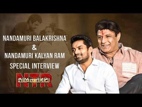 Nandamuri Balakrishna & Nandamuri Kalyan Ram Special Interview