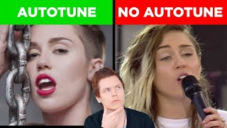 Autotune vs No Autotune (Miley Cyrus, Sam Smith & MORE)
